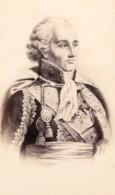 Bon-Adrien Jeannot De Moncey Duc De Conegliano Marechal D'Empire Ancienne Photo CDV 1870 - Photos