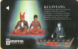 Philippines - Eastern Telecom, 128PETE, GPT, Kulintang, 100U, 10,000ex, Used - Philippines
