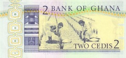 GHANA P. 18d 2 C 1982 UNC - Ghana