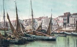 Blankenberge Blankenberghe Quai Des Pêcheurs (boot Bateau ) - Blankenberge