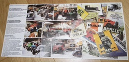 BERLIET : Fondation Marcel BERLIET Ancienne Plaquette Années 80 Sauvegarde Des Camions Lyon - Camions