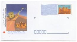 Lettre Maroc Pré-affranchie (Timbrée) à Destinations Internationales. Timbre. Patrimoine Culturel Marocain - Maroc (1956-...)