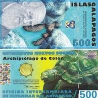 Galapagos - 500 Sucres 12.02. 2009 UNC Ukr-OP - Billets
