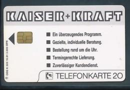 GERMANY Telefonkarte K 503 91 Kaiser + Kraft - Auflage 2000 - Siehe Scan - 15452 - Deutschland