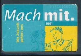 GERMANY Telefonkarte K 566 91 Gewerkschaft Textil-Bekleidung - Auflage 3000 - Siehe Scan - 15453 - Deutschland