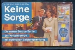 GERMANY Telefonkarte O  847 95 Volksfürsorge - Auflage 15000 - Siehe Scan - 15464 - Deutschland