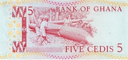 GHANA P. 19b 5 C 1980 UNC - Ghana