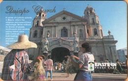 Philippines - Eastern Telecom, 128PETB, GPT, Quiapo Church, 150U, Used - Philippines