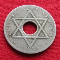 British West Africa 1/2 Half Penny 1915 - Monnaies