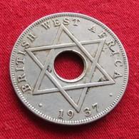 British West Africa 1/2 Half Penny 1937 H - Monnaies