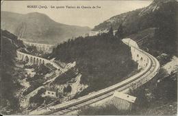 MOREZ , Les Quatre Viaduc Du Chemin De Fer - Morez