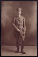 Militar Portugues Do CAP Em França GUERRA 14-18 WWI Ww1. Old Postcard W/Real Photo Of Portuguese Military 1915s FRANCE - Guerre 1914-18