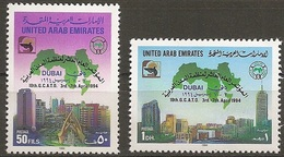 1994-Emirats Arabes Unis- 10th G.C.A.T.O DUBAI BUILDING TOWER MAP GCATO- Complete Set  MNH** - Ver. Arab. Emirate