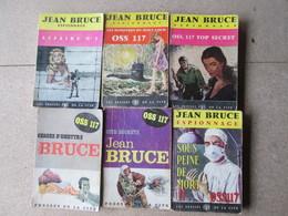 LOT DE 6 LIVRES  BRUCE OSS 117 POLICIER - Books, Magazines, Comics