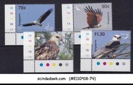 SINGAPORE - 2016 BIRDS OF PREY / EAGLE KITE TRAFFIC LIGHR 4V - MINT NH - Oiseaux