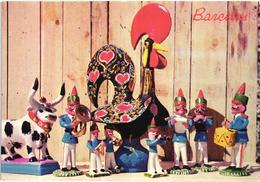 Barcelos - Bonecos De Presepio -  Poupees De Creche ( Figurine Santons ) - Madeira