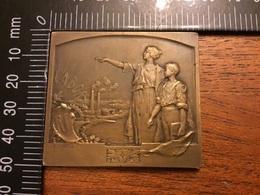 Médaille Ministère De L Instruction Publique Et Des Beaux Arts Enseignement Technique - France