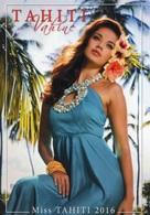 """Entier Postal De 2017 Sur CP Avec Timbre Et Illust. """"Miss TAHITI 2016"""" - Entiers Postaux"""