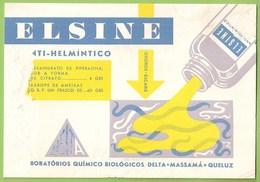 Portugal - Massamá - Queluz - Mata-Borrão - Blotter - Buvard Remédio Medicamento Medicina Medicine Farmácia Advertising - Blotters