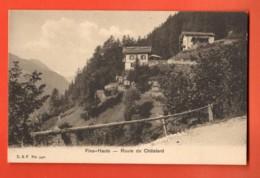 EBC-11  Finhaut Route Du Châtelard. Non Circulé - VS Valais