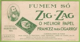 Portugal - Lisboa - Mata-Borrão Blotter Buvard Tabaco Cigarros Tobacco Cigarettes Casa Havaneza Publicidade Advertising - Blotters