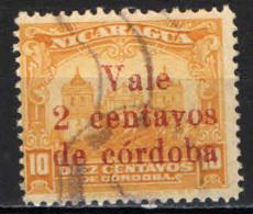 NICARAGUA - 1922 - Leon Cathedral - Overprinted - USATO - Nicaragua