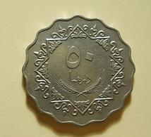 Libya 50 Dirhams 1975 - Libya