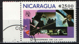 NICARAGUA - 1981 - CONGRESSO DELLA UIT - USATO - Nicaragua
