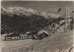 Monesi (Triora, Imperia): Albergo E Seggiovia Del Redentore. Viaggiata 1954 - Hotels & Restaurants