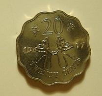 Hong Kong 20 Cents 1997 - Hong Kong