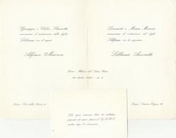7797.   Partecipazione Matrimonio Ivrea 1965 - Annunci Di Nozze