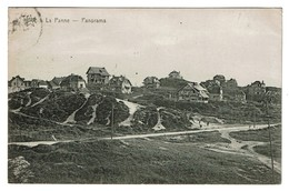 La Panne - Panorama - Circulée - Edit. De Graeve N° 1660 - 2 Scans - De Panne