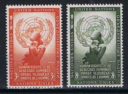 Verenigde Naties New York Y/T 29 / 30 (**) - New York -  VN Hauptquartier