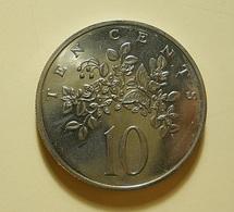 Jamaica 10 Cents 1969 - Jamaique