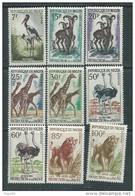 Niger  N° 96A / 108 XX Protection De La Faune, Les 14 Valeurs Sans Charnière, TB - Niger (1960-...)
