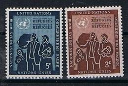 Verenigde Naties New York Y/T 15 / 16 (**) - New York -  VN Hauptquartier