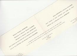 7799.   Marriage Partecipation Partecipazione Nozze Ivrea - Le Mèe Sur Seine - Morcone 1967 - Annunci Di Nozze