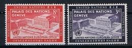 Verenigde Naties New York Y/T 25 / 26 (**) - New York -  VN Hauptquartier