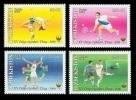 Uzbekistan 2006 Mih. 705/08 Sport. Asian Games In Doha. Tennis. Basketball. Football. Athletics MNH ** - Uzbekistan