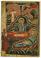 IRAN - ALL SAVIOUR'S ARMENIAN CATHEDRAL NEW JULFA-ISFAHAN - THE NATIVITY (MANUSCRIPT MINIATURE,1330) - Iran