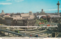 LIVERPOOL -MERSEY TUNNEL ENTRANCE - Liverpool