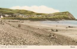 BORTH- BEACH AND HEADLAND - Caernarvonshire