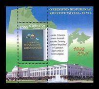 Uzbekistan 2017 Mih. 1207 (Bl.87) Constitution Of Uzbekistan MNH ** - Uzbekistan