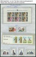 SAMMLUNGEN, LOTS **, 1969-92, Fast Komplette Partie Auf Seiten, Pracht, Mi. Ca. 680.- - Netherlands