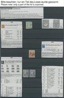 SAMMLUNGEN, LOTS **,o,* , 1852-1999, Anfängersammlung Niederlande In 3 Einsteckbüchern, Ohne Spitzenwerte, Aber Einige M - Netherlands