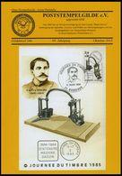 PHIL. LITERATUR Poststempelgilde: Gildebrief 243-246 Komplett, September 2014 - Oktober 2015 - Philately And Postal History
