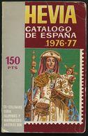 PHIL. LITERATUR Catalogo Hevia De Sellos De España, 30. Edición, 1976/77, 282 Seiten, Einband Leichte Gebrauchsspuren - Philatelie Und Postgeschichte