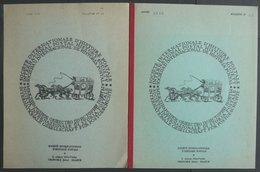 PHIL. LITERATUR Société Internationale D`Historie Postale, Bulletin No. 14 Und 15, 1969, Internationale Gesellschaft Für - Philately And Postal History