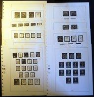 VORDRUCKE Berlin 1948-1955, Neuwertiger SAFE-Falzlostext - Stamps