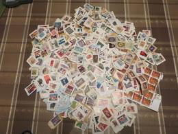 ##S1, Canada, Vrac, Plus De 750 Timbres Commémoratifs, More Than 750 Commemorative Stamps - Timbres